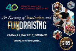 Gala Fundraising Dinner - Sporting Wheelies and Disabled Association