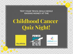 Childhood Cancer Quiz Night