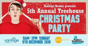 Dec 09 Vantage Homes Presents the 5th Annual Treehouse Christmas Party