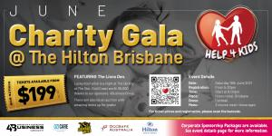 Jun 19 Charity Gala Event @ The Hilton Brisbane