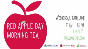 Red Apple Day Morning Tea