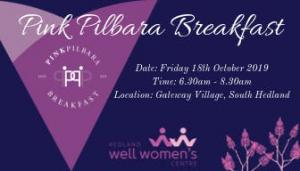 Well Womens Pink Pilbara Breakfast