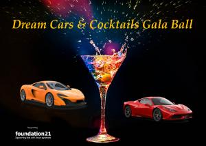Foundation21 Dream Cars & Cocktails Gala Ball 2020