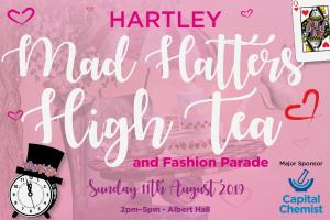 Hartley Mad Hatters High Tea and Fashion Parade