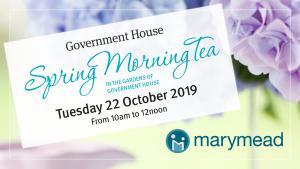 Government House Spring Morning Tea