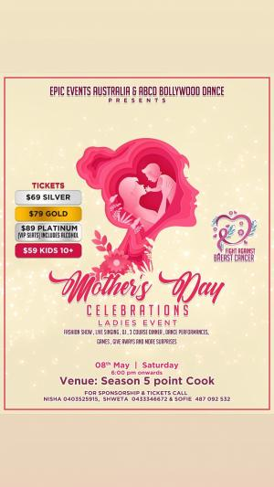 Mothers Day Celebrations (Charity Event for Breast Cancer Foundation)