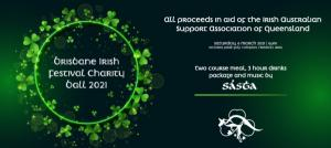 Brisbane Irish Festival Charity Ball 2021 in aid of IASAQ