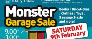 Marymead Monster Garage Sale