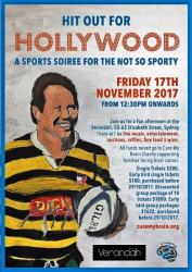 Nov 17 Hit out for Hollywood a Sporty Soiree for the not so Sporty