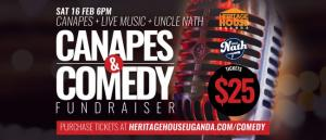 Canapes & Comedy Fundraiser
