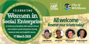 Mar 11 International Womens Day Breakfast : Celebrating Women in Social Enterprise