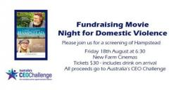 Fundraising Movie Night for Domestic Violence
