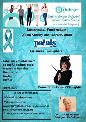 Feb 02 Ovarian Cancer Awareness & Fundraiser Event