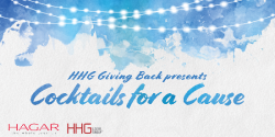 Mar 16 Cocktails for a Cause presented by HHG Giving Back