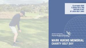 Mark Hukins Memorial Charity Golf Day