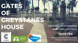 POSTPONED : Gates of the Greystanes House
