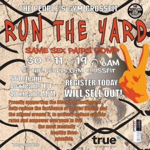 Run the Yard Pairs Competition