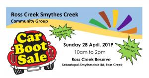 Ross Creek-Smythes Creek Community Car Boot Sale