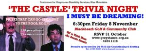 Nov 08 The Castle movie Trivia Night
