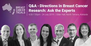 Breast Cancer Trials Presents: Q&A Directions in Breast Cancer Research - Ask the Experts