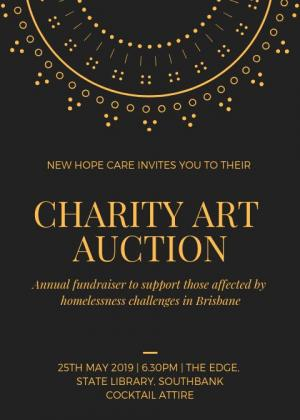 New Hope Care Art Auction