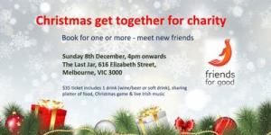 Christmas get together for charity