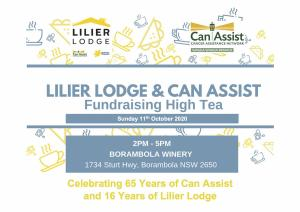 Lilier Lodge & Can Assist Fundraising High Tea