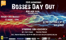2018 Showdown Bosses Day Out