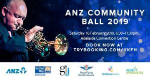 ANZ Community Ball 2019 hosted by United Way SA