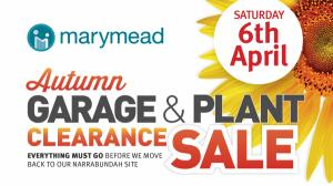 Marymeads Autumn Garage and Plant Clearance Sale