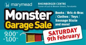 Marymeads Monster Garage Sale