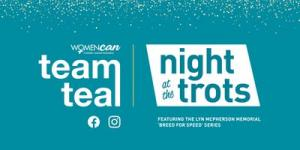 Night At The Trots- Team teal