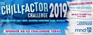 Mackay Chillfactor Challenge and MND Blue Tie Ball