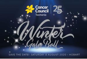 Cancer Council Tasmanias 25th Anniversary Gala - Hobart