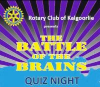Rotary Club of Kalgoorlie Battle Of The Brains Quiz Night