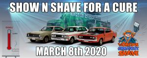 Mar 08 Show n Shave for a cure