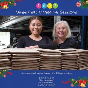 Reading out of Poverty - ROOP -  Christmas Gift Wrapping Sessions