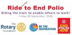 Ride the Train to End Polio
