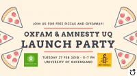 Oxfam & Amnesty Lauch Party