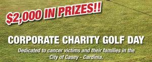 ANNUAL ROTARY CASEY CORPORATE CHARITY GOLF DAY