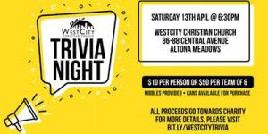 Apr 14 WestCity Trivia Night