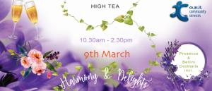 Harmony & Delights High Tea