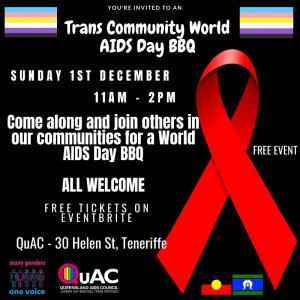 Trans Community World AIDS Day BBQ