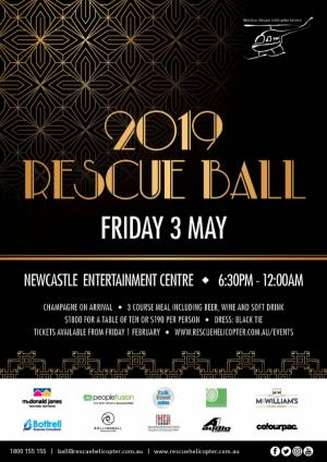 2019 Rescue Ball - SOLD OUT