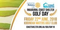 Inaugural Coast Shelter and Gosford City Rotary GOLF DAY