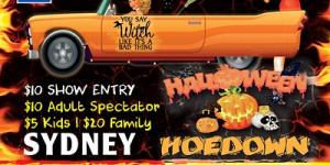 Hot Rods For The Homeless Halloween Hoedown