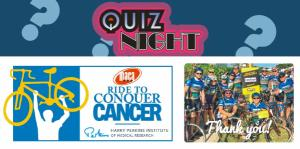 Quiz Night Fundraiser - Ride to Conquer Cancer