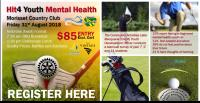 Hit4 Youth Mental Health Golf Day