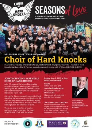 Seasons of Love - Jonathon Welch Farewells Choir of Hard Knocks