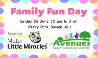 Avenues Family Fun Day in Support of Mater Little Miracles